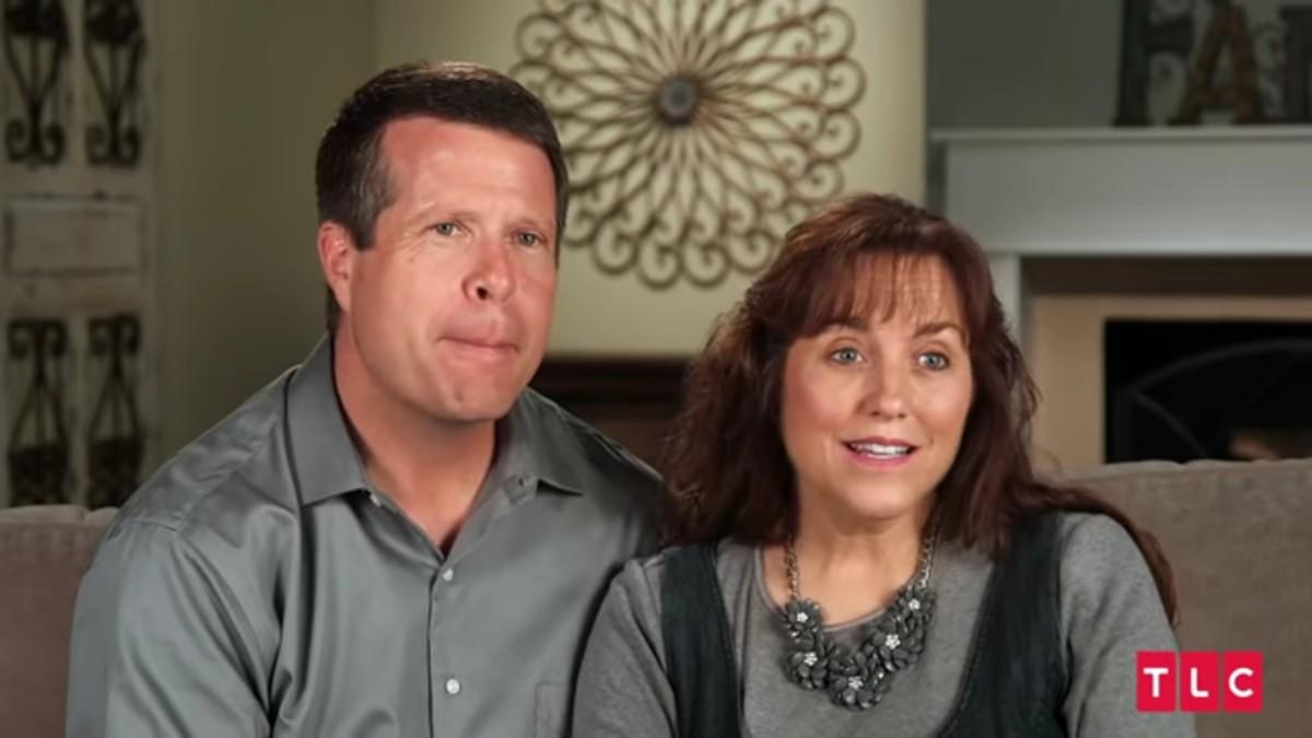 Jim Bob and Michelle Duggar in a confesisonal.