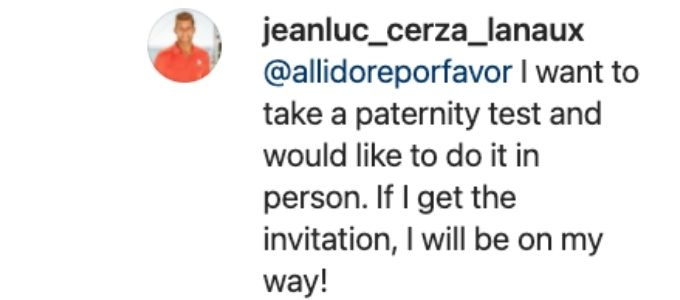 Jean-Luc defends himself to Alli