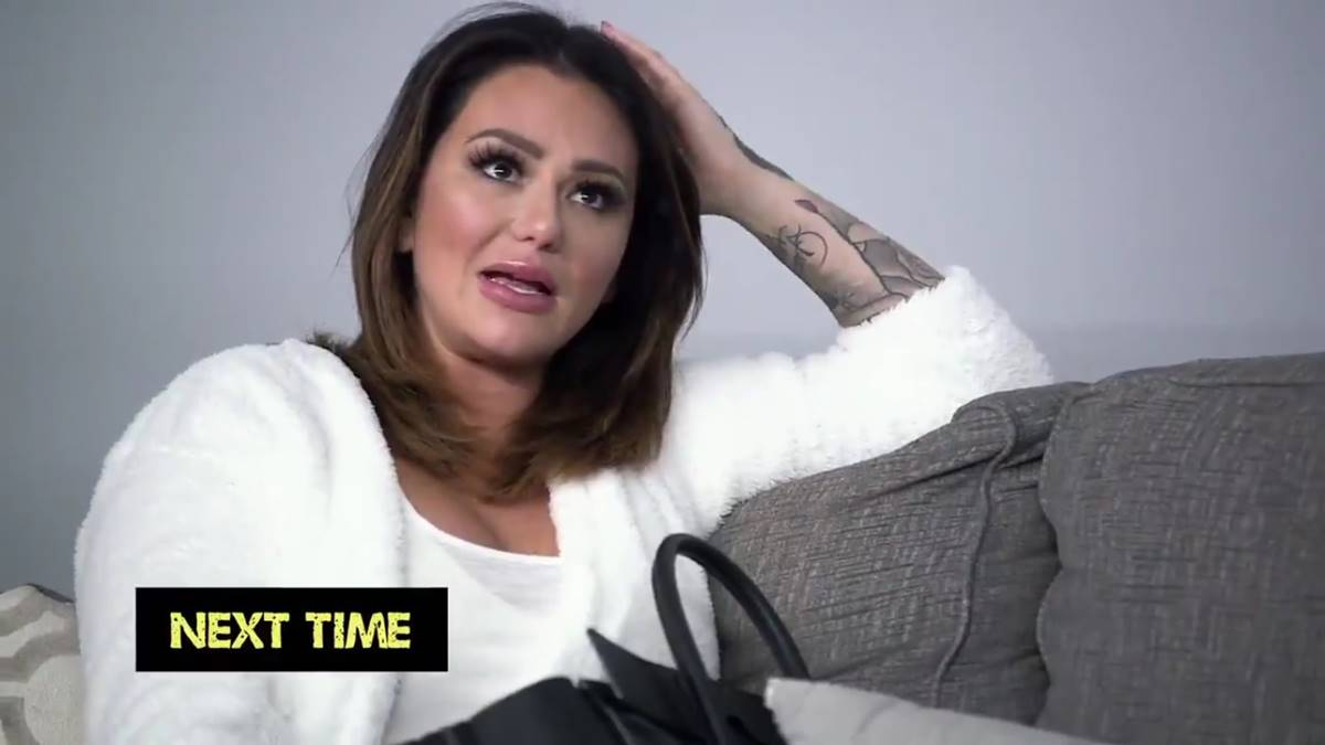 JWoww confronts Angelina Pivarnick after she receives shady security video