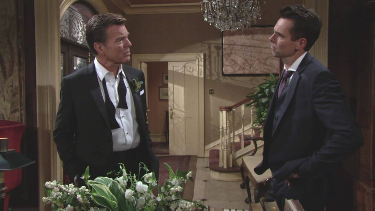 The Young and the Restless spoilers reveal Billy and Jack battle it out.