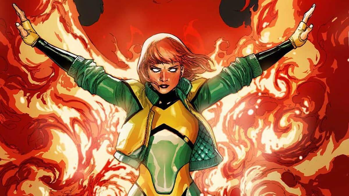 Jean Grey as Phoenix in the X-Men