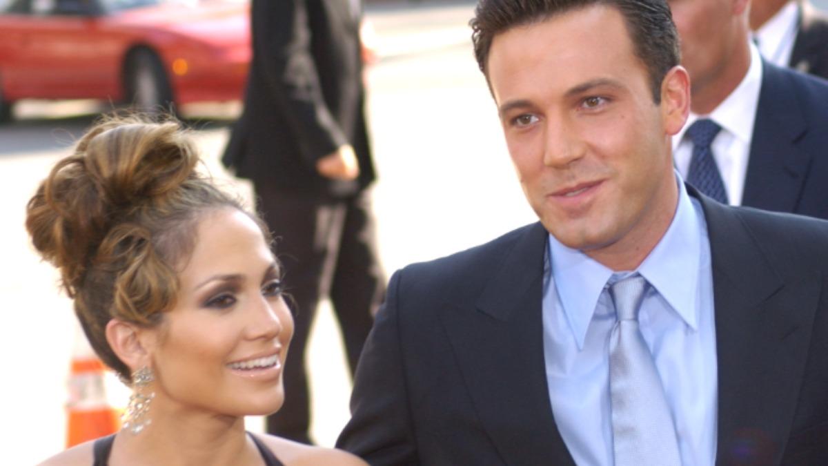 Ben Affleck and Jennifer Lopez on the red carpet