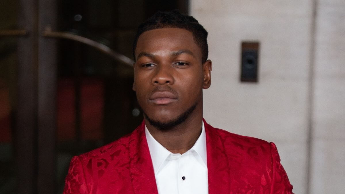 Image of John Boyega at a special event.