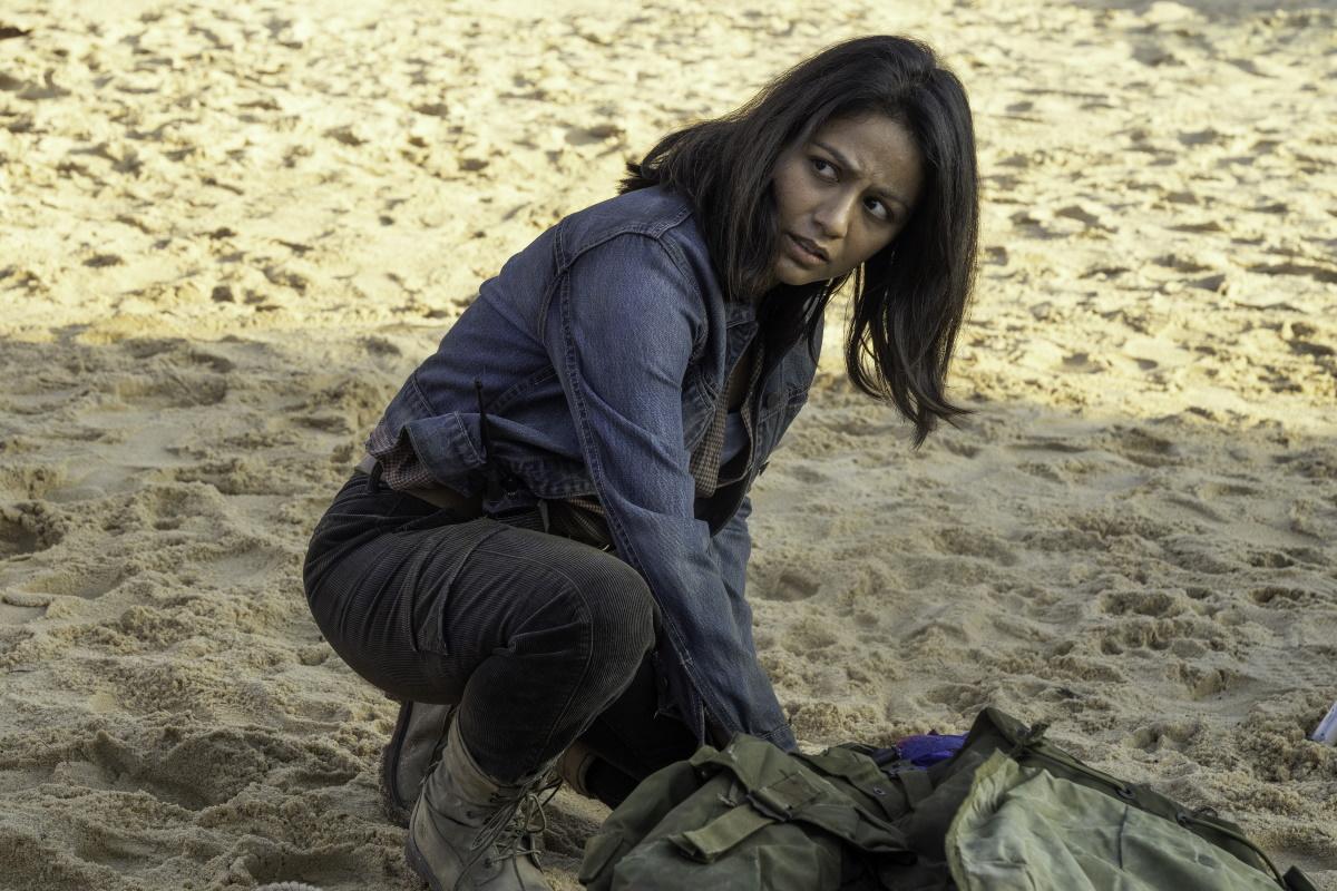 Karen David stars as Grace, as seen in Episode 16 of AMC's Fear the Walking Dead Season 6
