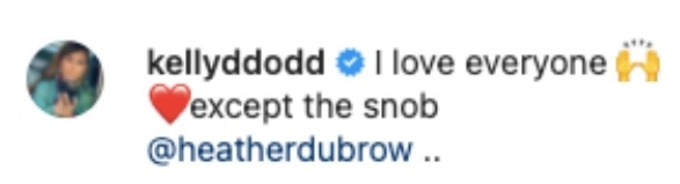 Kelly Dodd throws shade at Heather Dubrow