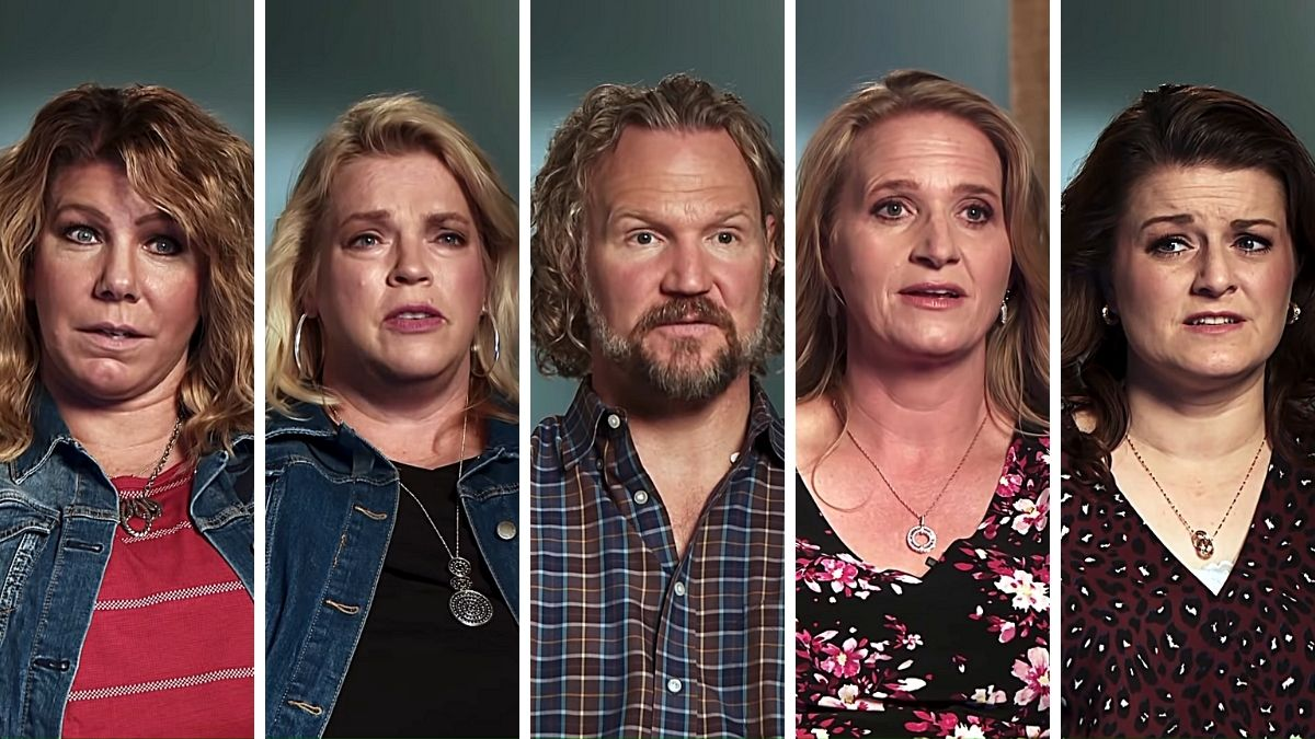 Kody Brown and his four wives from Sister Wives