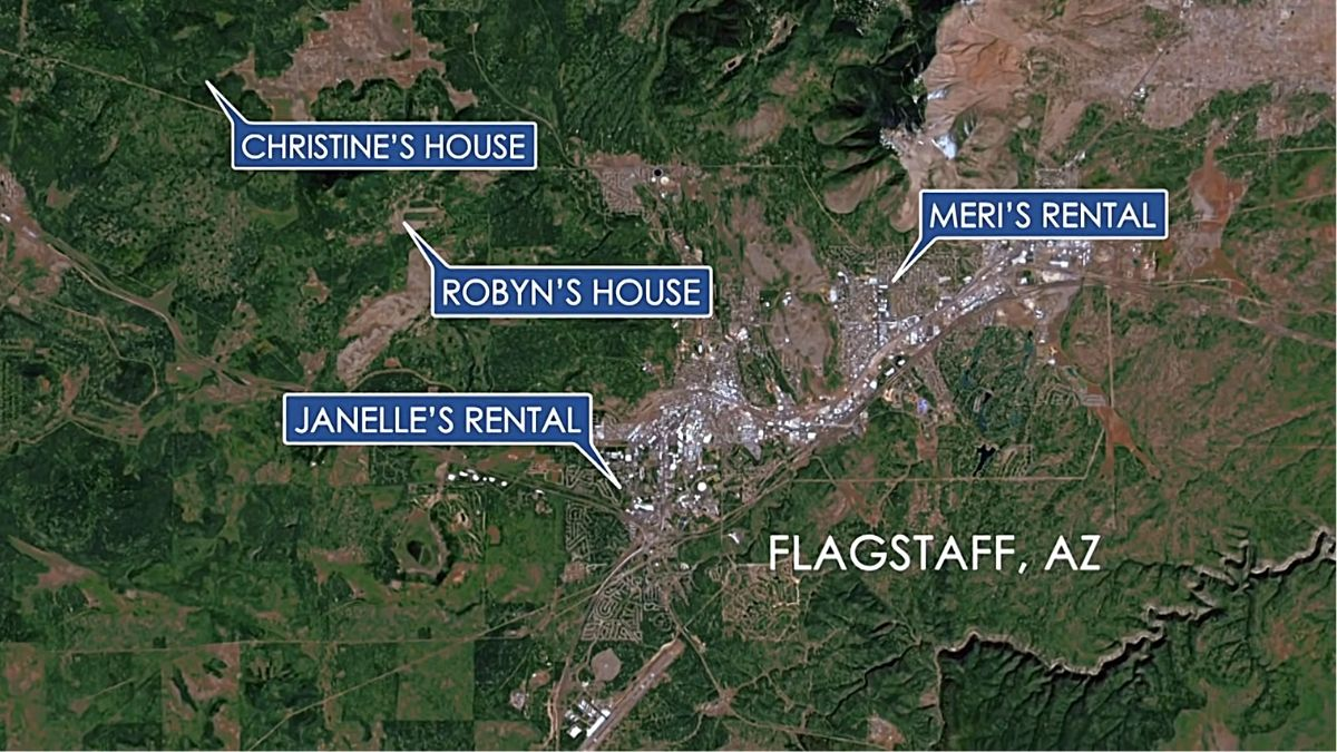 Sister Wives homes in Flagstaff on TLC