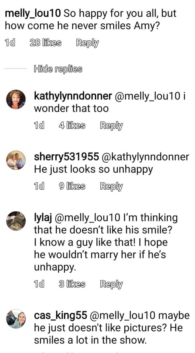 Amy Roloff of LPBW on Instagram