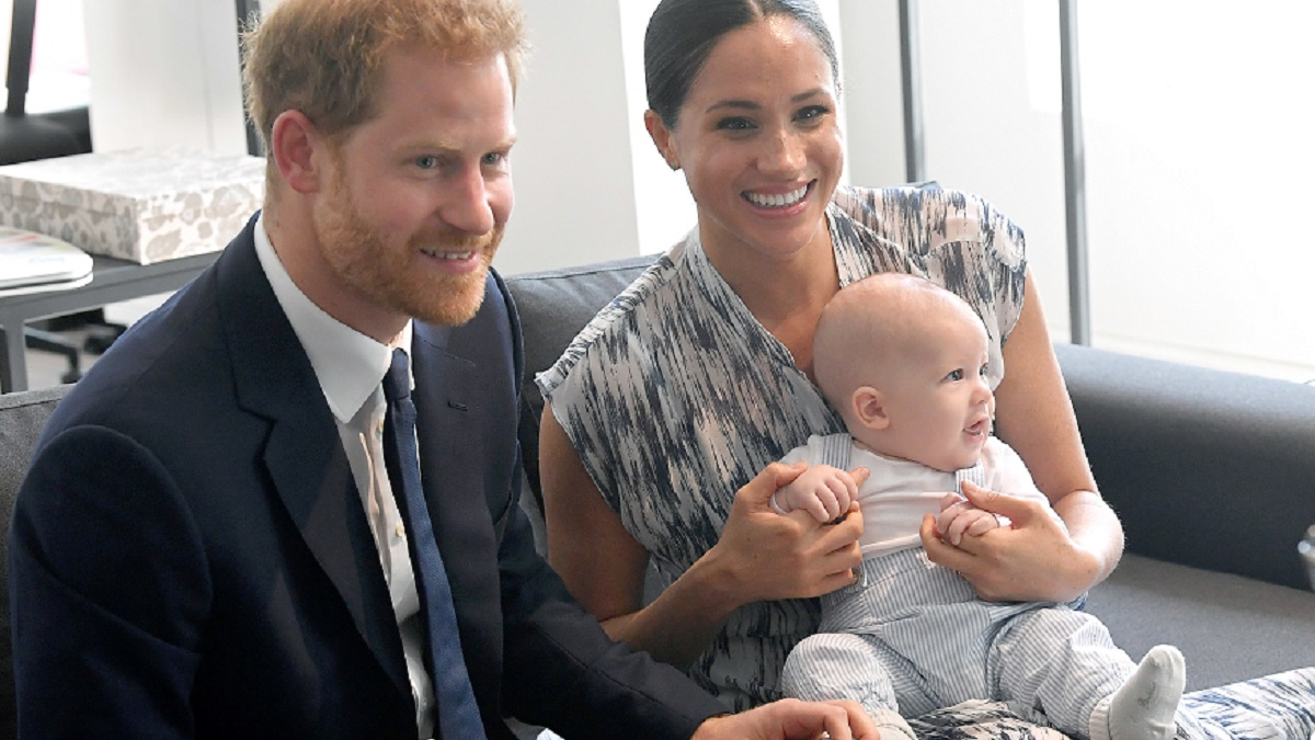 Meghan Markle, Prince Harry, and Archie.