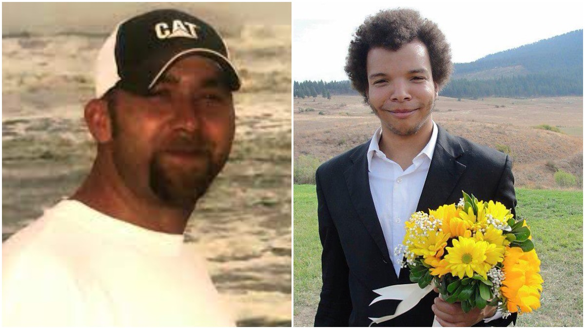 Profile pics of Eric Cates and Zachary Lamb
