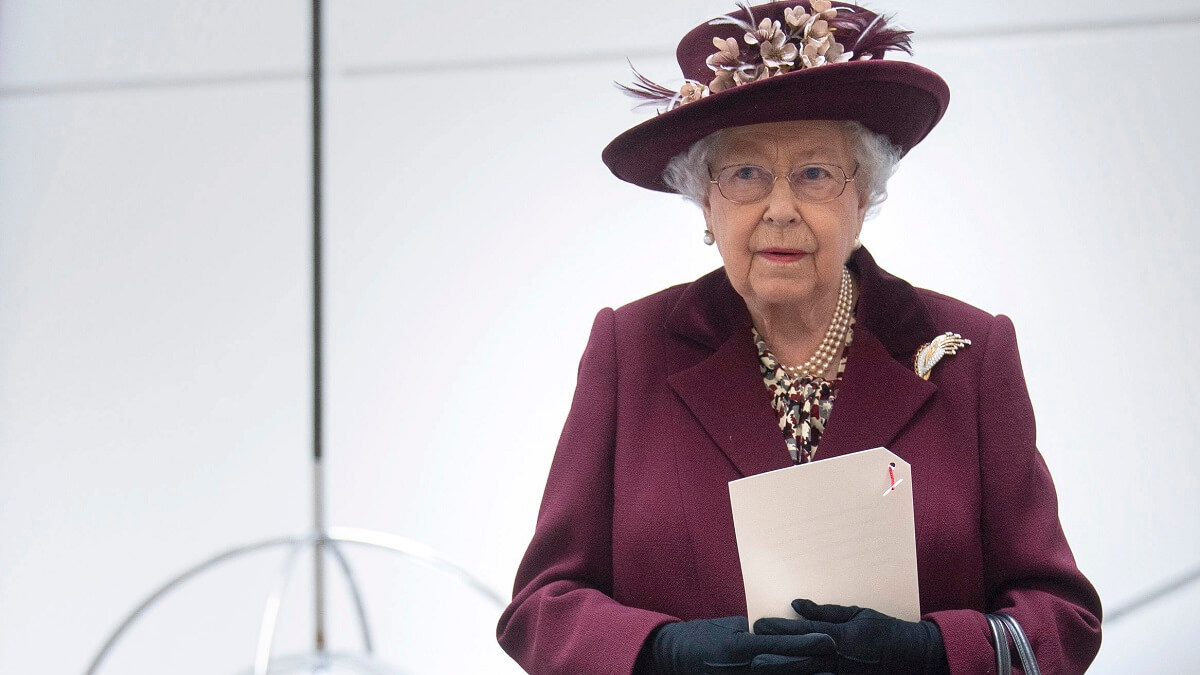 The Queen attends a royal event
