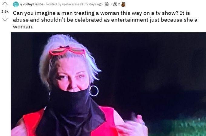 Reddit thread about Angela Deem