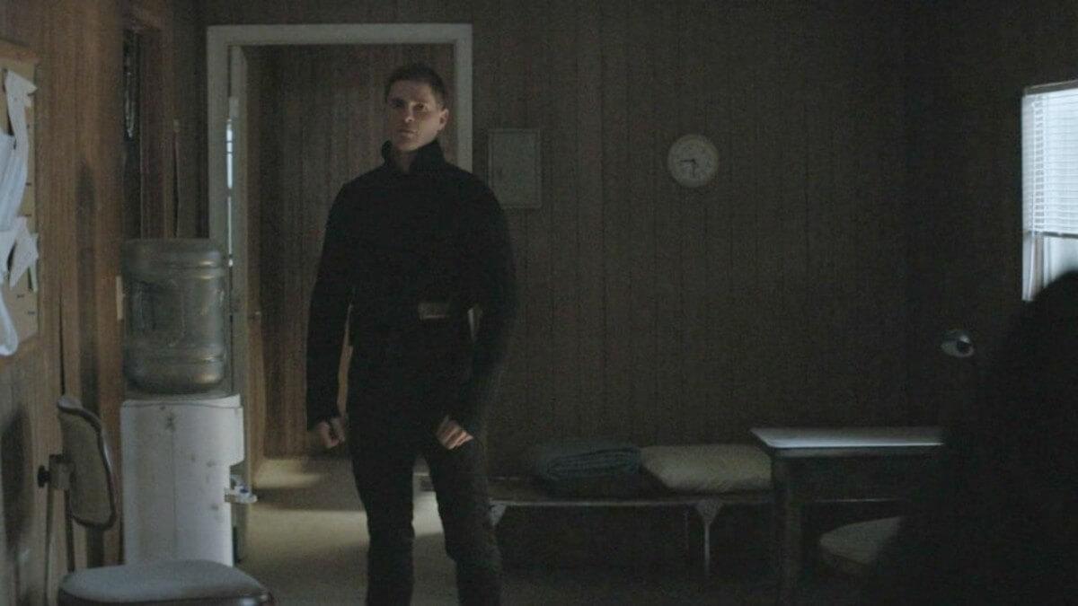 Robert Palmer Watkins stars as Lieutenant Frank Newton