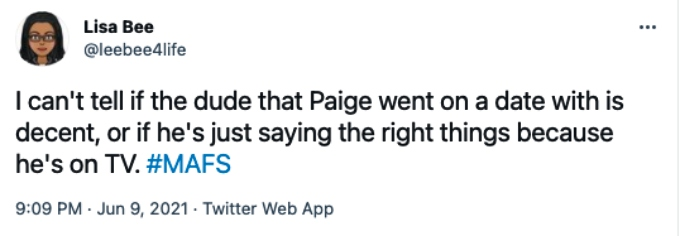 Fans are leery of Paige Banks's new date