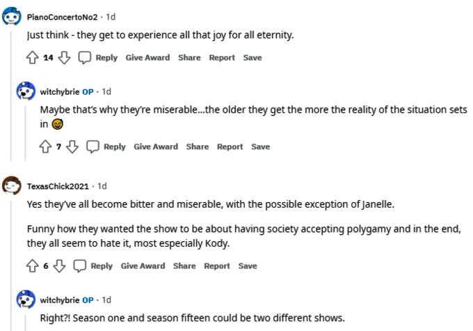 Sister Wives on Reddit
