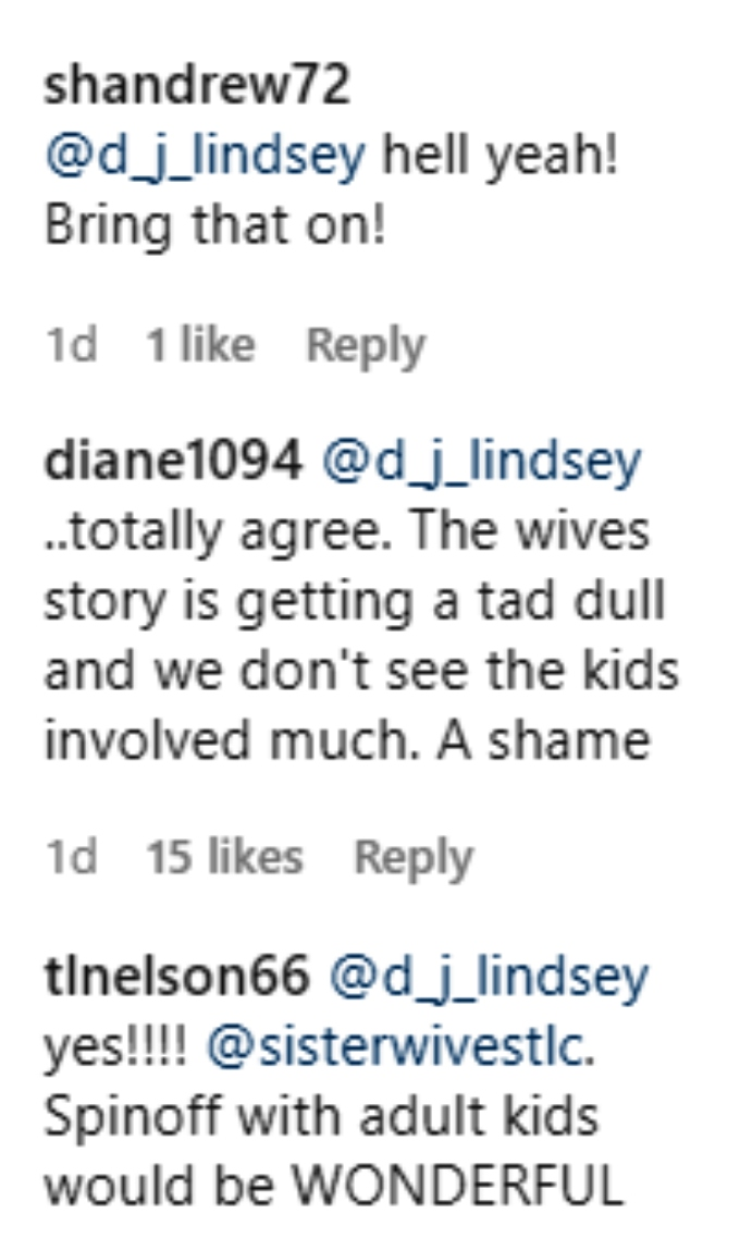 Mykelti Brown-Padron of Sister Wives on Instagram