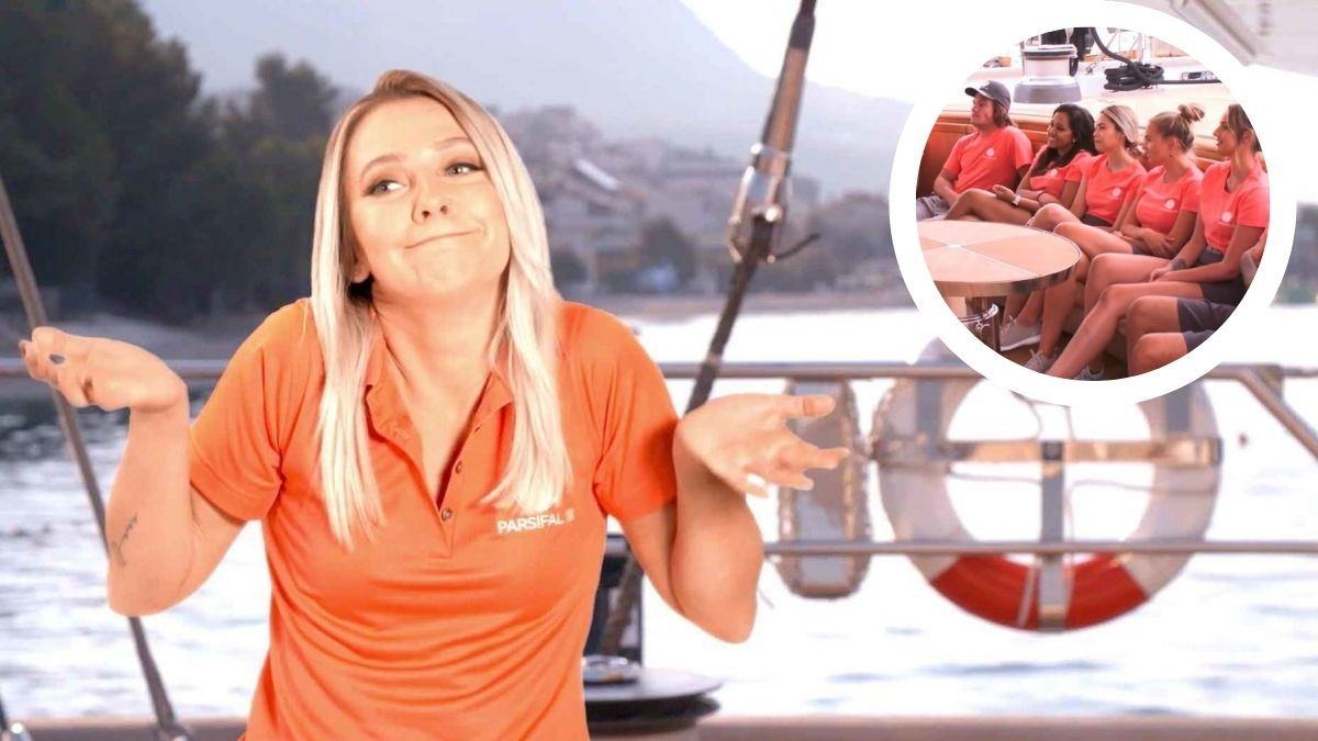 Sydney Zaruba from Below Deck Sailing Yacht Season 2 talks regrets.
