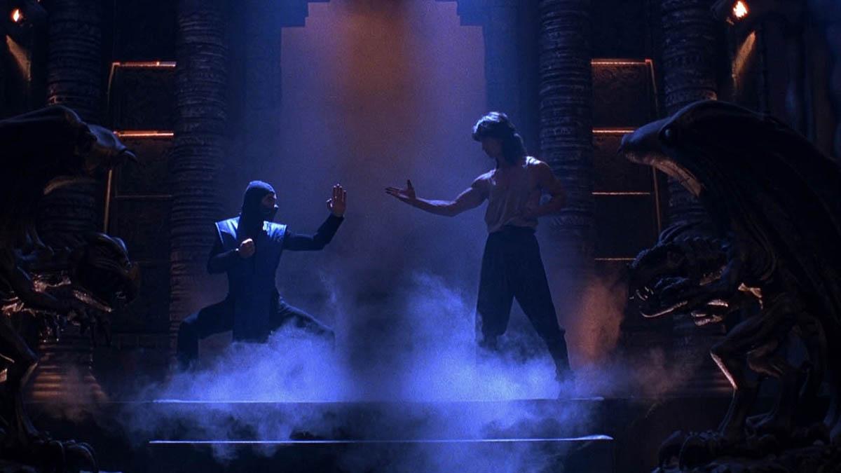The 1995 version of Mortal Kombat