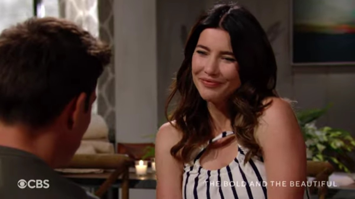 Steffy and Finn on The Bold and the Beautiful.