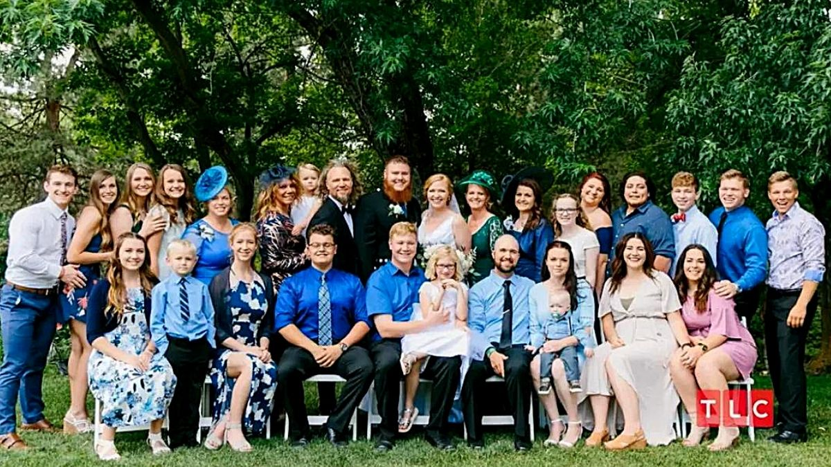 The Brown family of Sister Wives on TLC