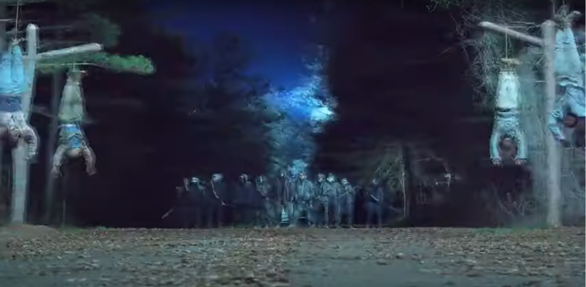 Image of the Reapers from the Season 11 trailer for AMC's The Walking Dead