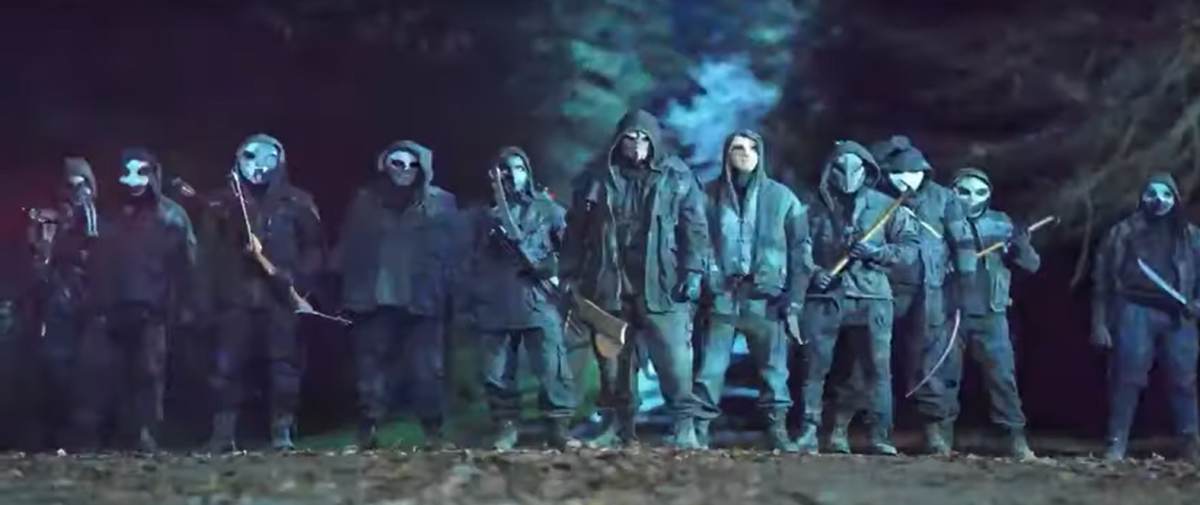 """The Reapers as shown in the new trailer for AMC""""s The Walking Dead Season 11"""