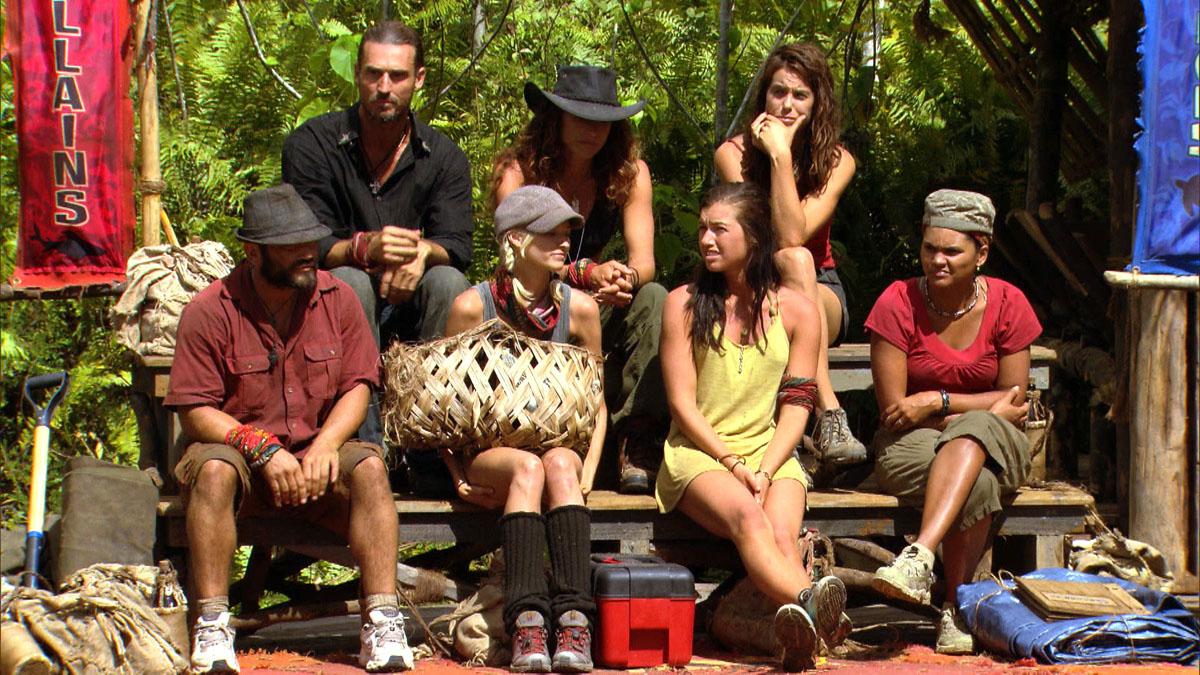 The challengers on Survivor Season 20