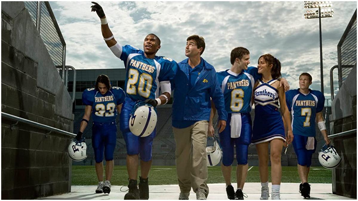 The football team in Friday Night Lights