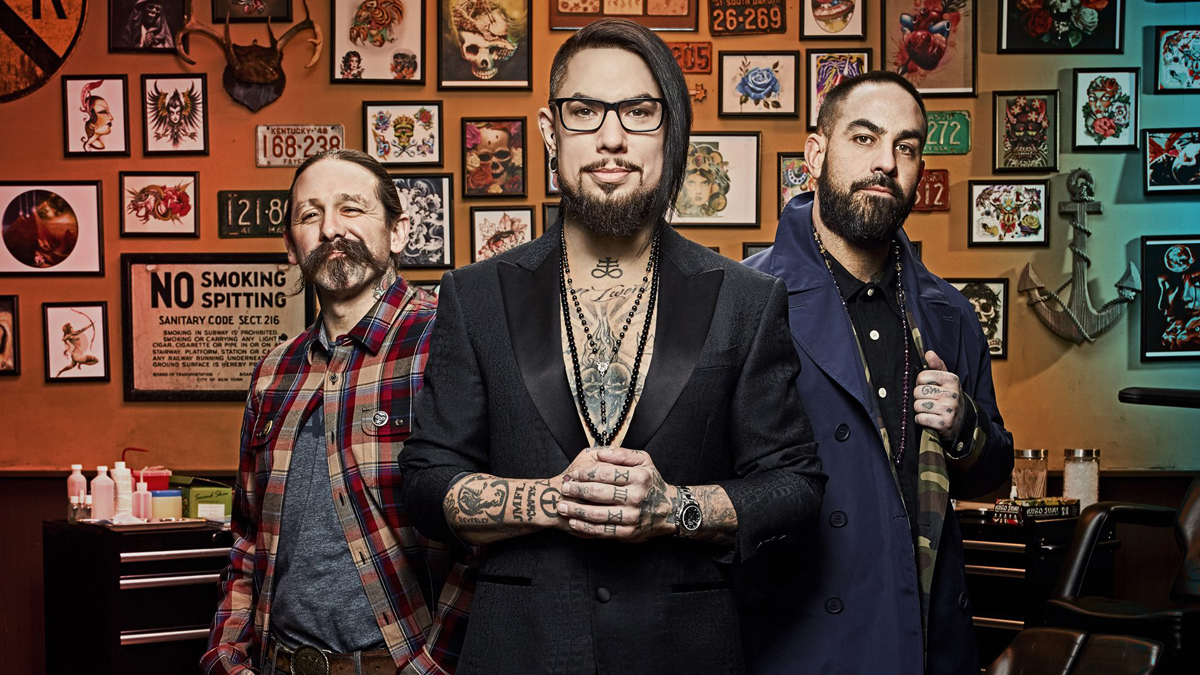 The judges on Ink Master