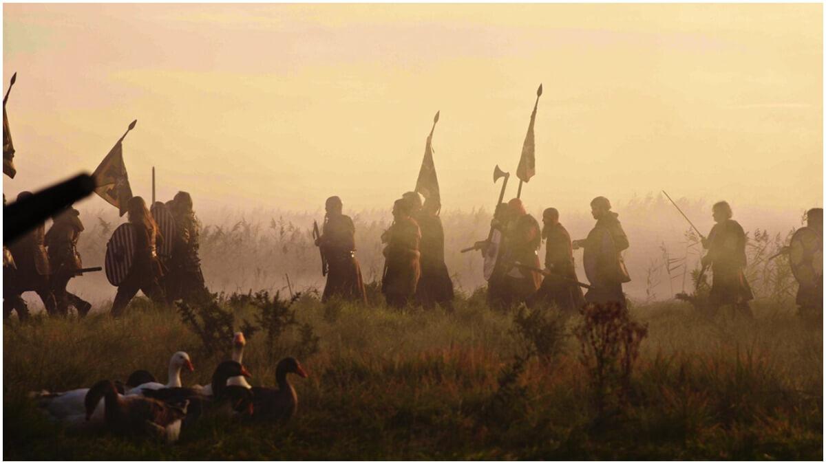 Promotional still from Netflix's Vikings: Valhalla