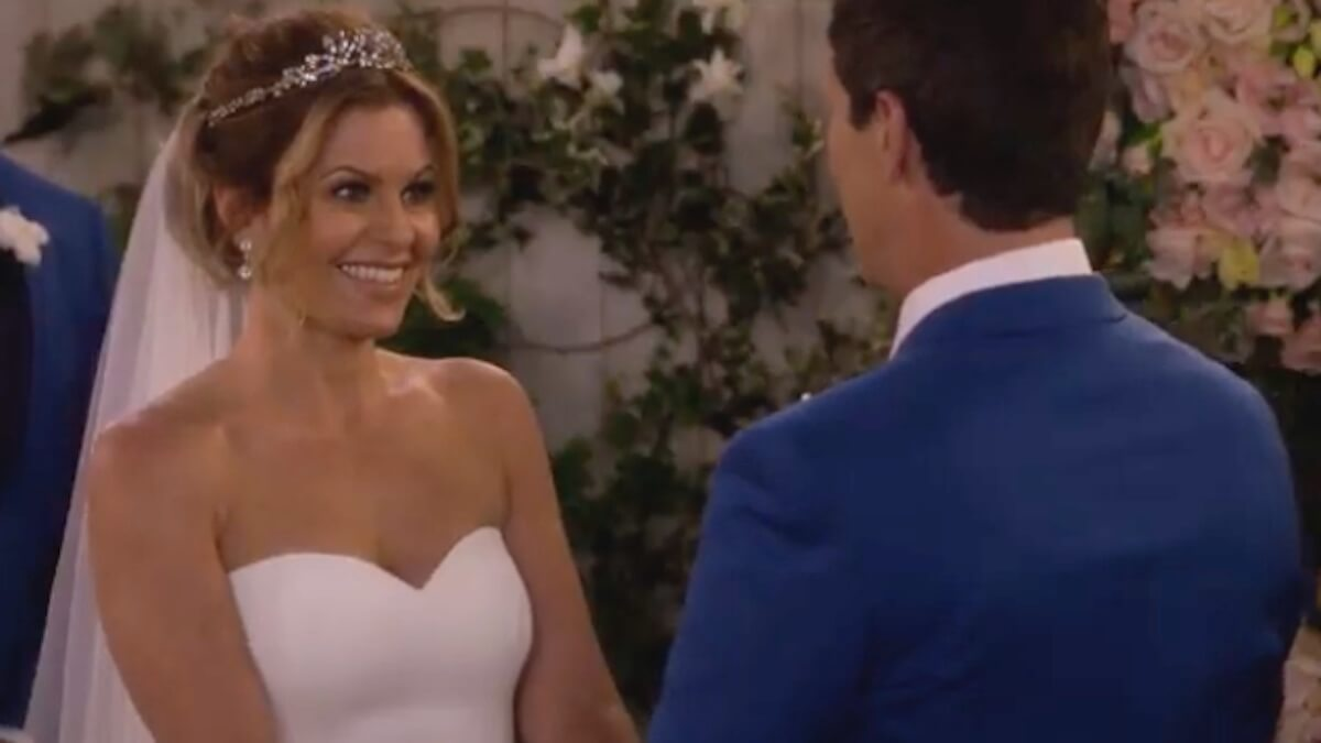 The first time Candace Cameron Bure played a bride on television was in 2020 on the Full House reboot, Fuller House.