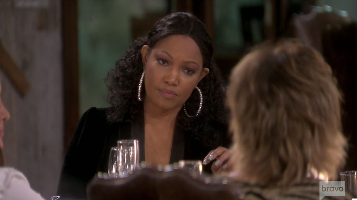 Garcelle Beauvais and Lisa Rinna on RHOBH