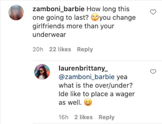lauren brittany replies to challenge fan question