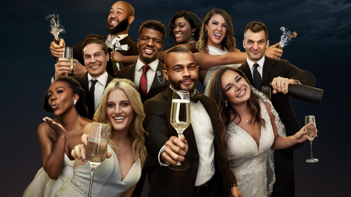 The cast of MAFS Season 12 pose for promo shot