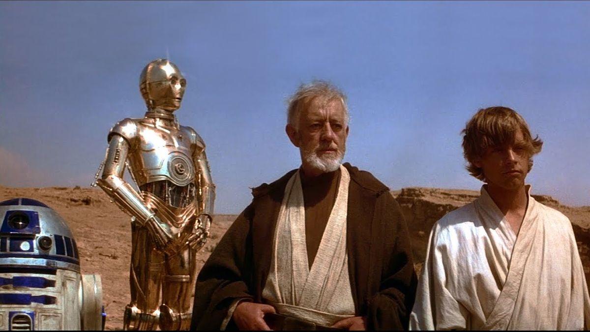 Tatooine scene