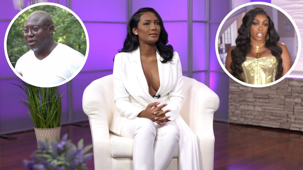 RHOA newbie Falynn Guobadia talks about husband Simon's engagement to Porsha Willaams