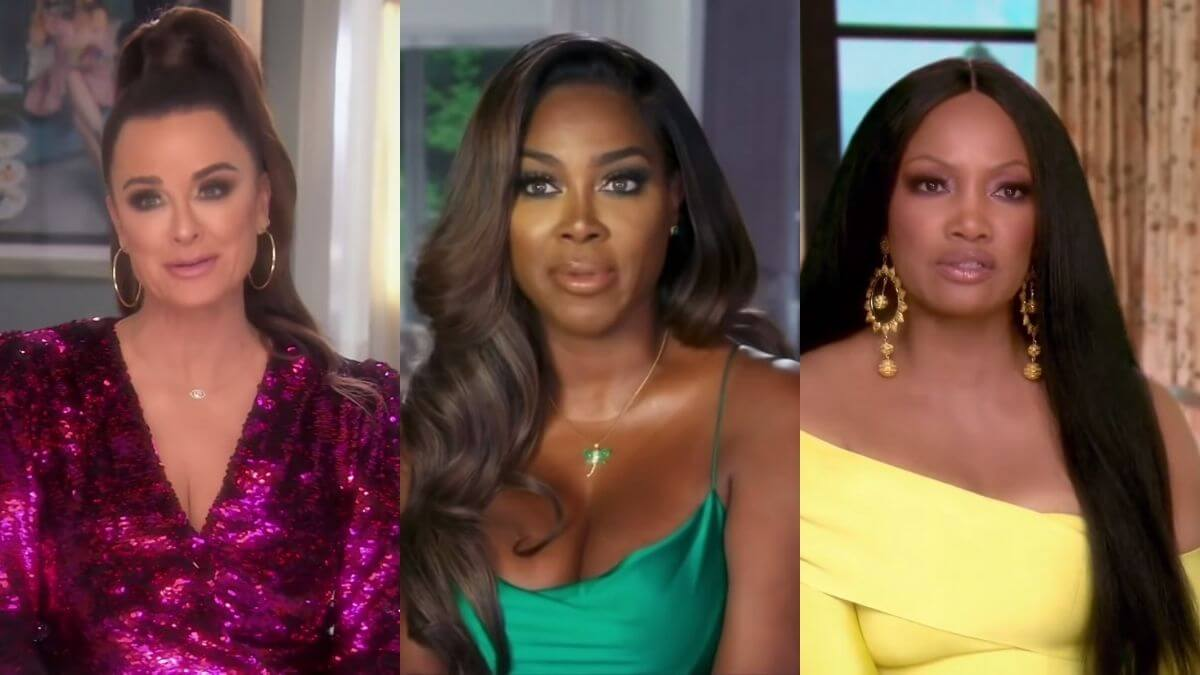 RHOA star Kenya Moore chimes in on Garcelle Beauvais and Kyle Richards drama
