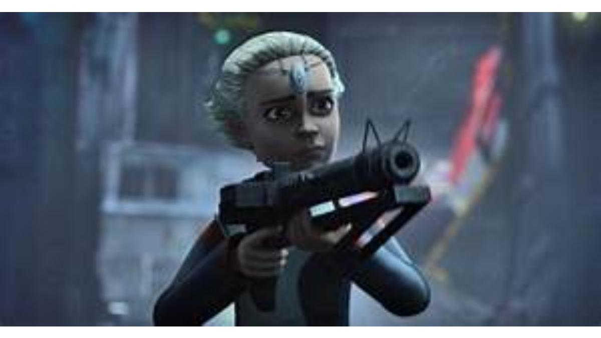 New Star Wars main character Omega.