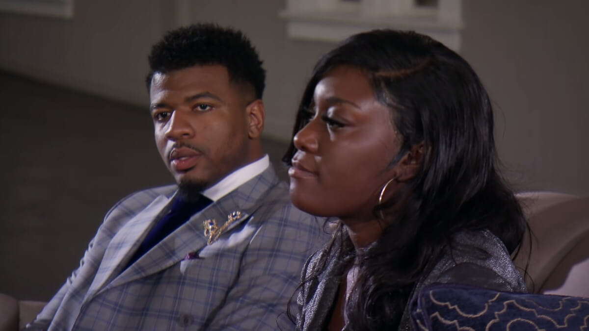 Paige and Chris on Married at First Sight