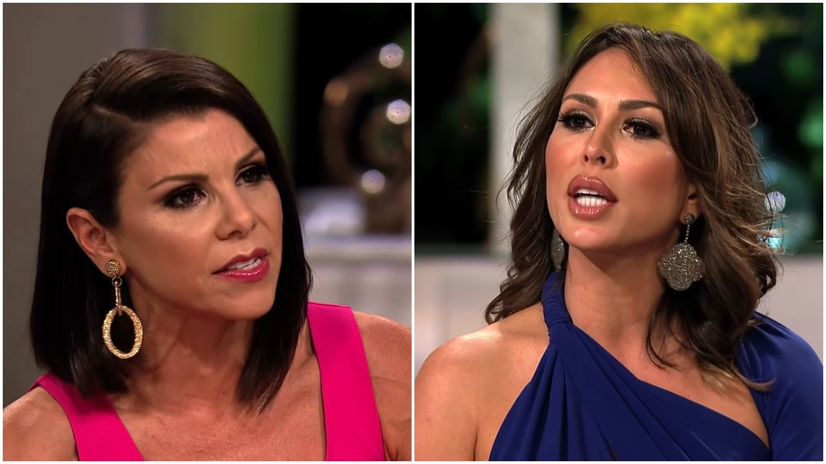 Kelly Dodd and Heather Dubrow on RHOC