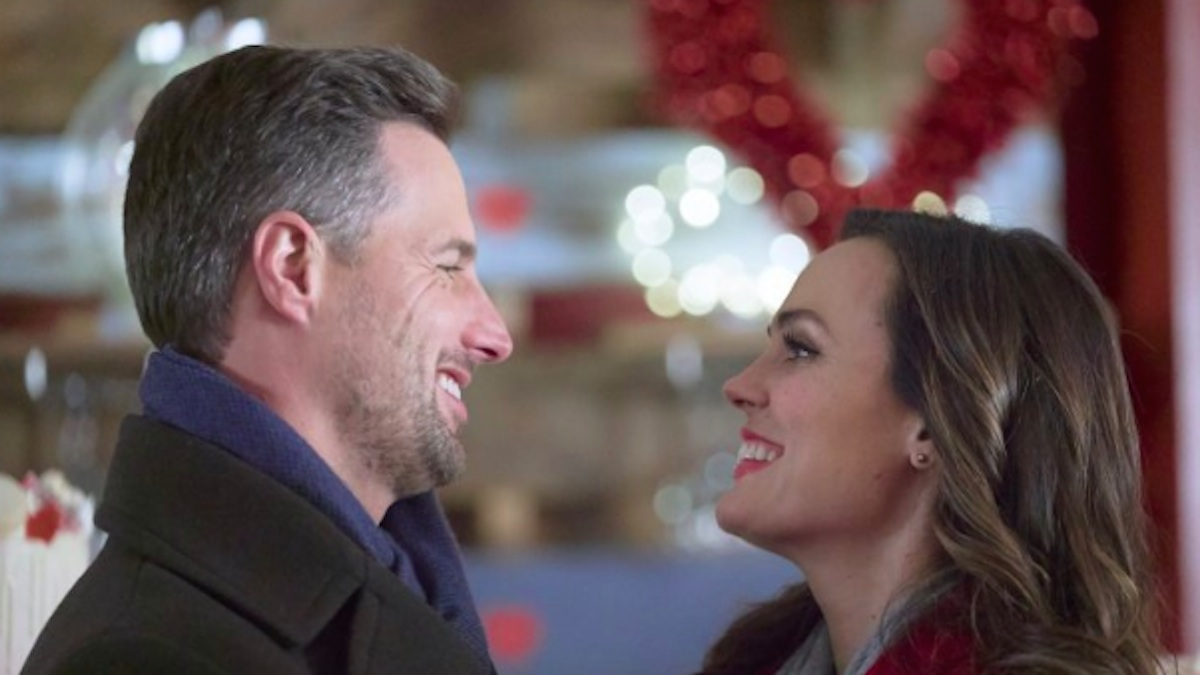 Brendan Penny and Erin Cahill star in The Secret Ingredient on Hallmark Channel.