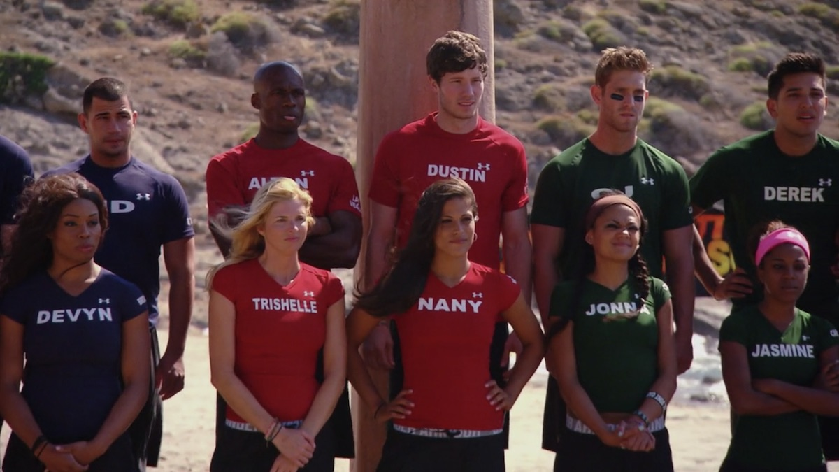cast members of the challenge battle of the seasons in 2012