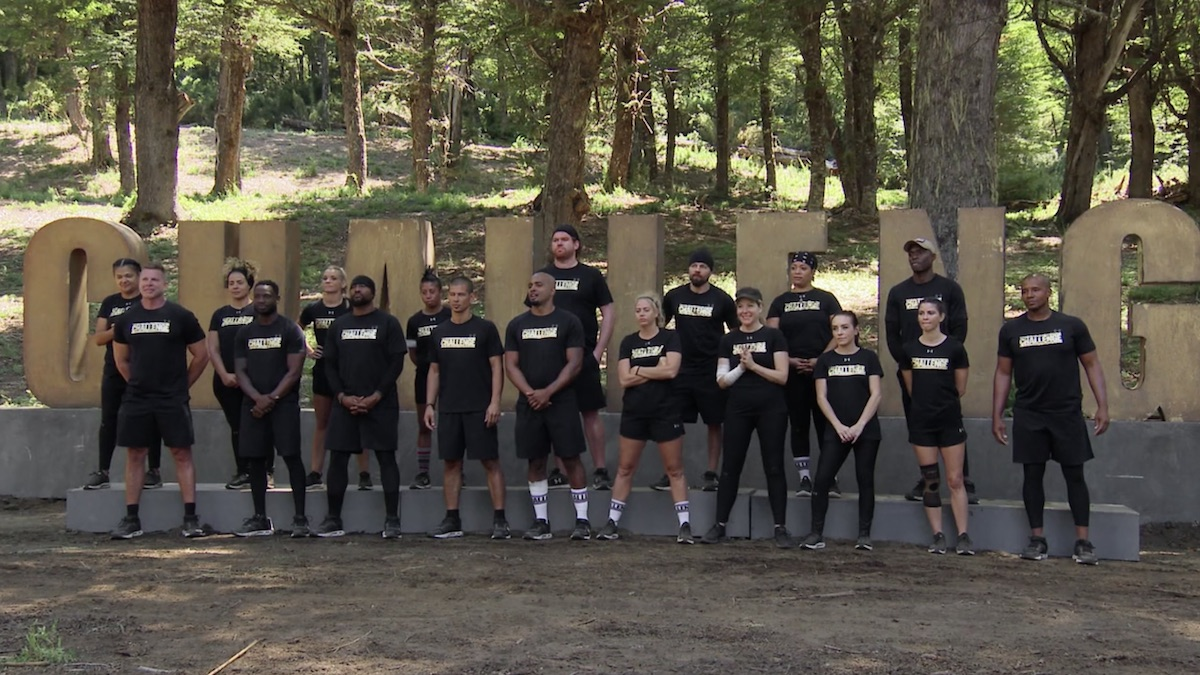 the challenge all stars cast members at daily challenge in episode 5