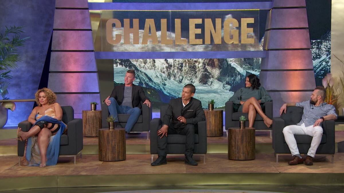 cast members at the challenge all stars reunion