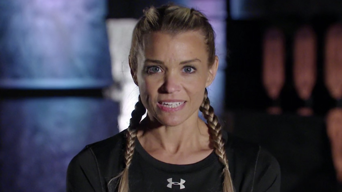 the challenge all stars competitor kendal sheppard in elimination confessional