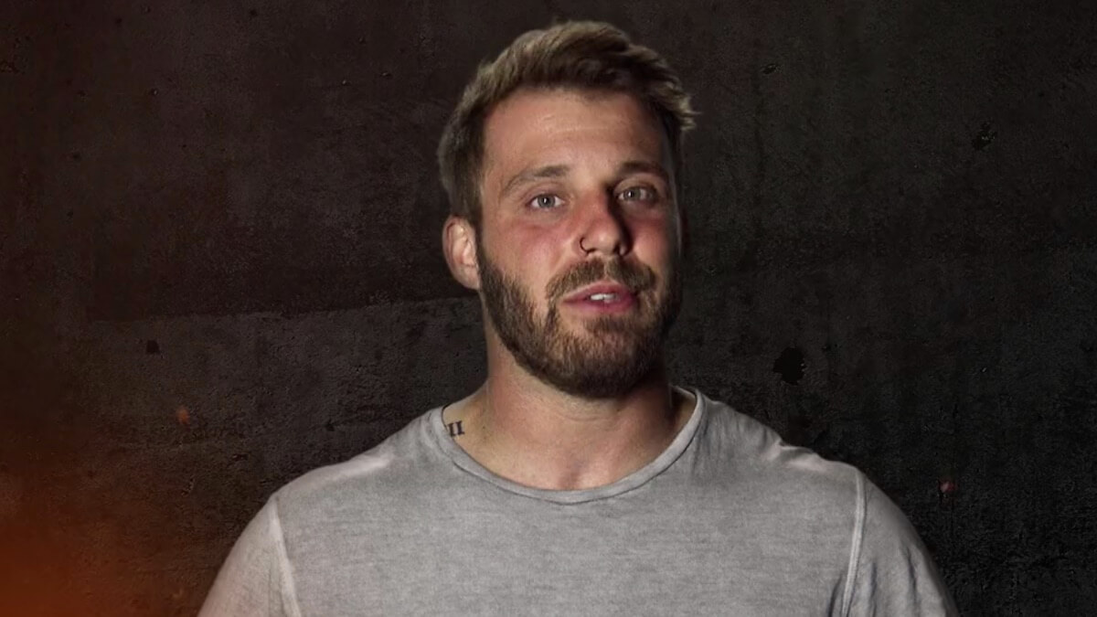 paulie calafiore on the challenge war of the worlds season