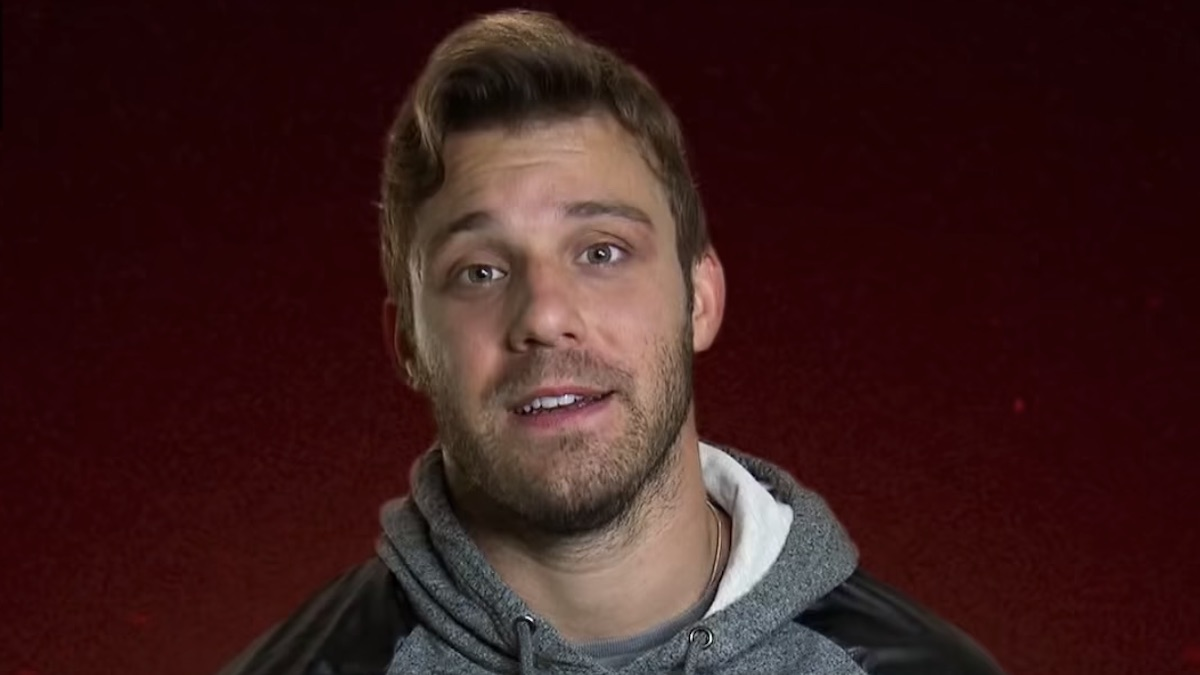 paulie calafiore in a confenssional interview for the challenge final reckoning