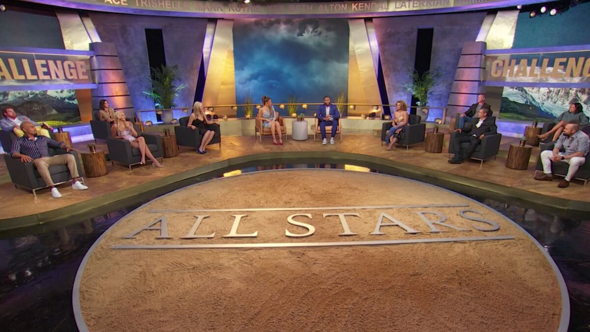various cast members at the challenge all stars reunion
