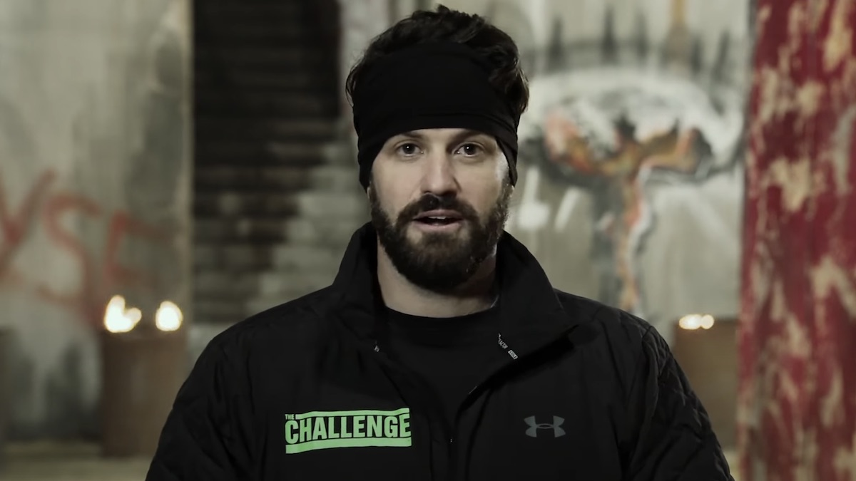 johnny bananas during elimination confessional on the challenge total madness