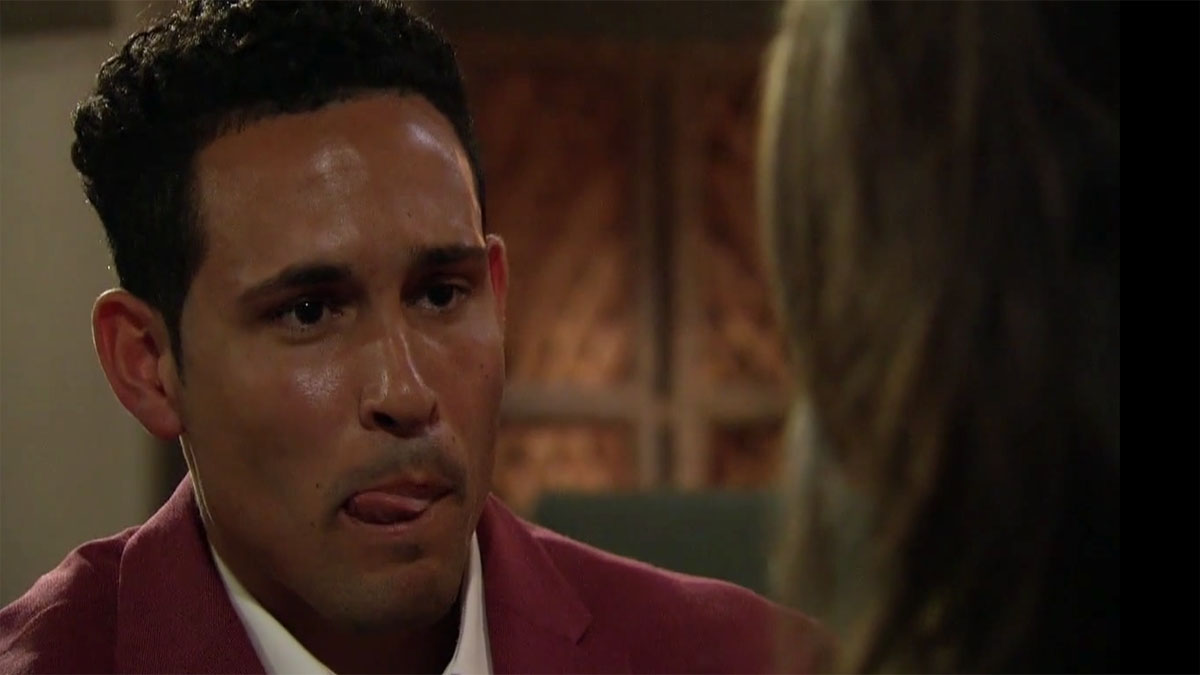 Thomas sweats it out as Katie delivers the final blow on The Bachelorette